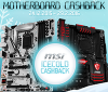 Get cashback with the purchase of selected MSI motherboards