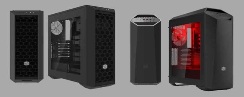 Cooler Master Maker 5, MasterBox 5 and  MasterWatt