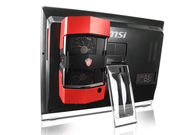 MSI Create a All-in-One Desktop PC with upgradable Desktop graphics