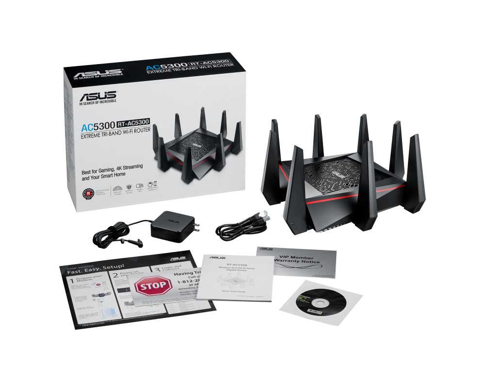 ASUS RT-AC5300 and RT-AC88U Router Review