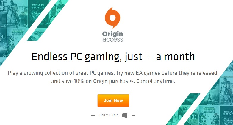 EA Origin Access arrives on PC