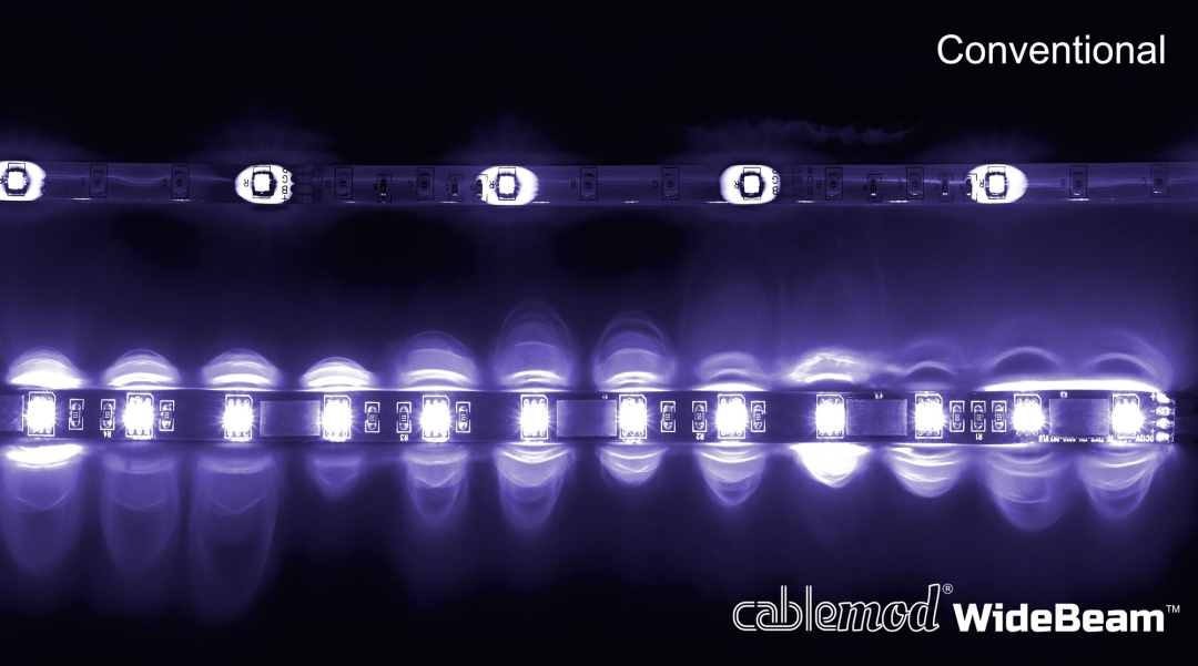 CableMod WideBeam LED Strips Review