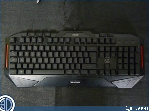 ASUS Cerberus Gaming Keyboard Review