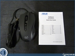 ASUS Cerberus Gaming Mouse Review