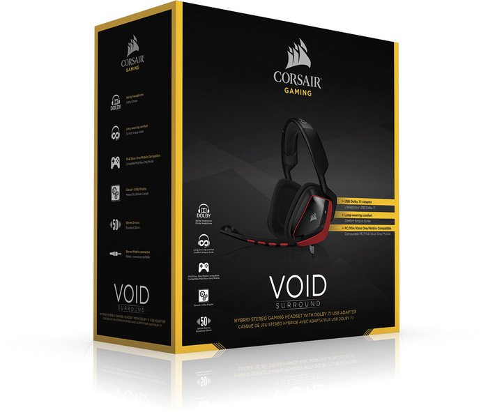 Corsair VIOD Surround Gaming Headset Review