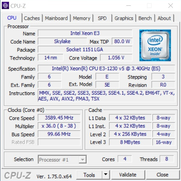 Intel Xeon E3-1230 V5 Review