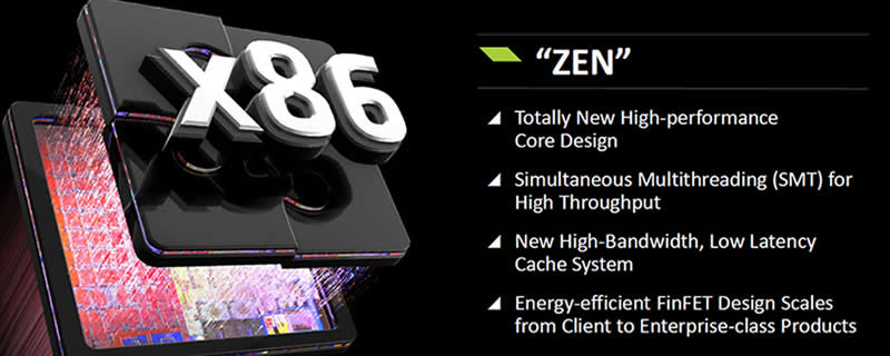 AMD Zen 8-Core CPU Rumored to launch in October with 95W TDP