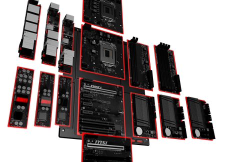 MSI Announce Revolutionary new Modular Motherboard design.