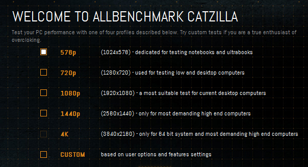 Catzilla Now Supports 4K - GPU Performance