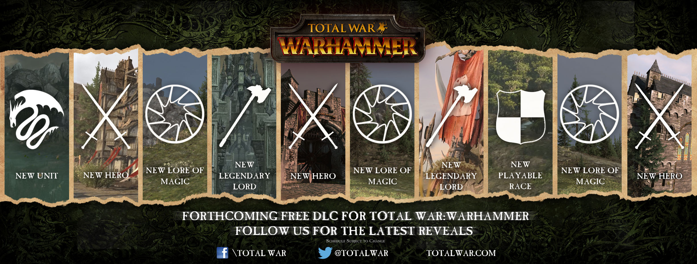 Creative Assembly Details Total War: Warhammer free post-launch DLC