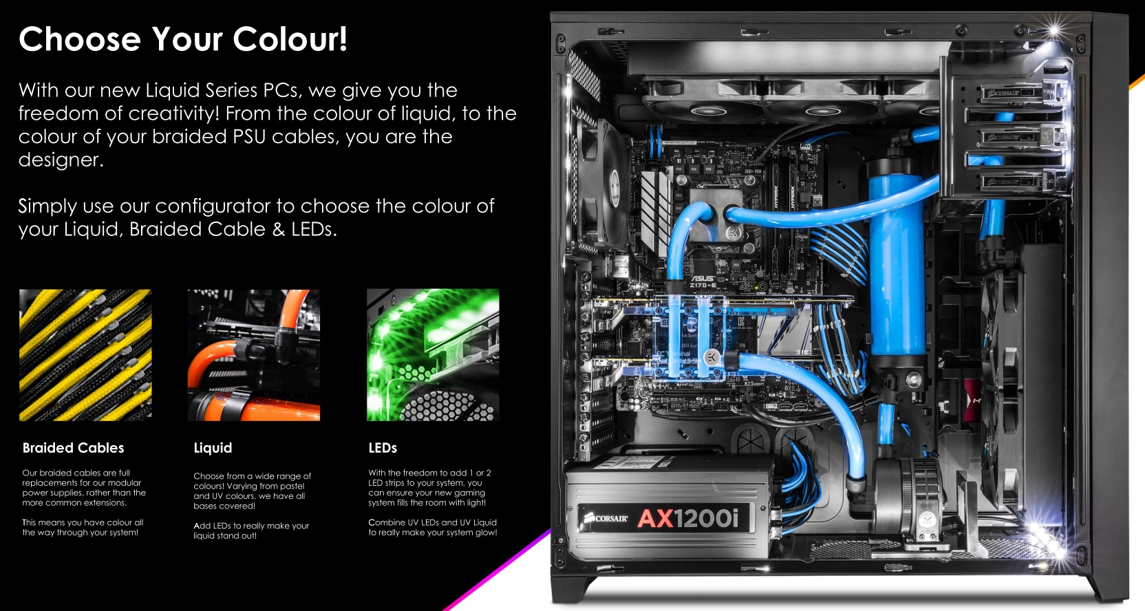 PC Specialist Introduce Liquid Series of Custom Systems