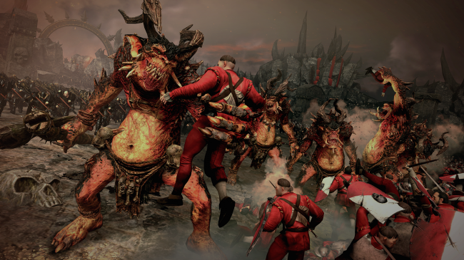 Total War: Warhammer's Chaos Warriors DLC will now be free for launch week