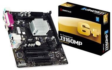 Biostar introduces new motherboards with Braswell Refresh CPUs
