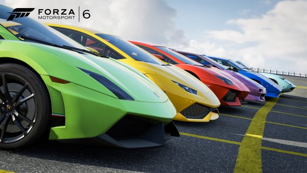 Forza Motorsport 6 Apex update enables unlocked framerates
