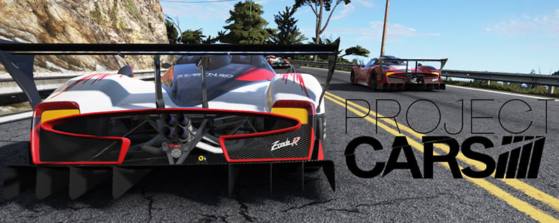 Project Cars now supports the HTC Vive
