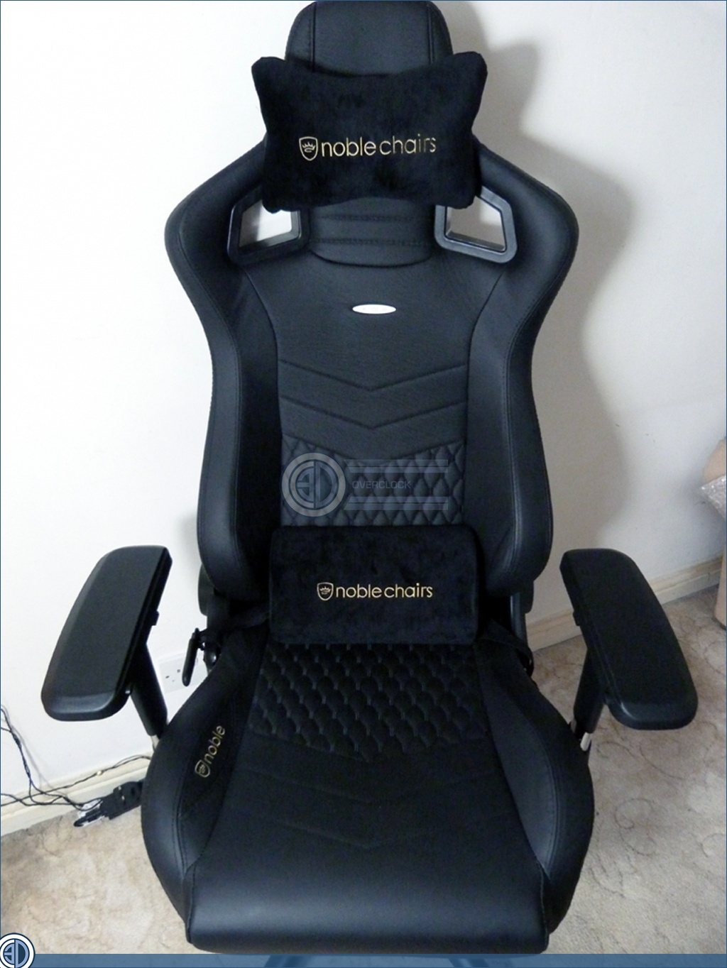 Swell Nobelchairs Epic Real Leather Gaming Chair Review Final Ibusinesslaw Wood Chair Design Ideas Ibusinesslaworg