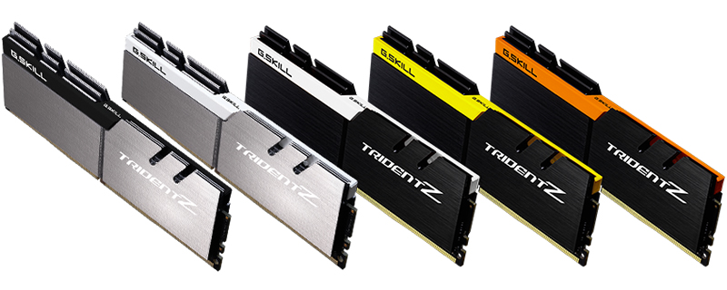 G.Skill Announces Trident Z 4266MHz DDR4 memory kits