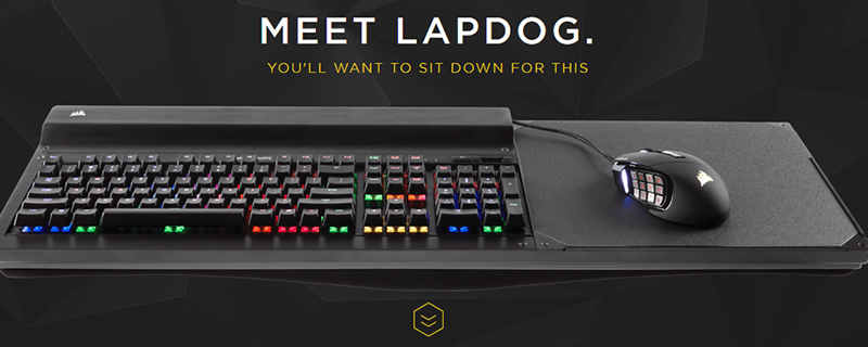 Corsair Release Their Lapdog Portable Gaming Control Center