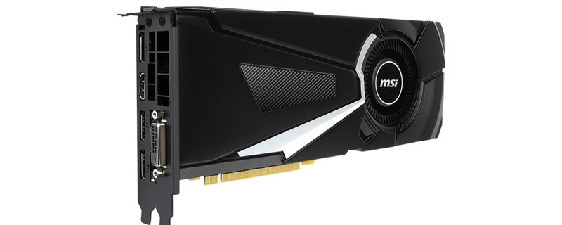 MSI launch 5 GTX 1070 GPU variants