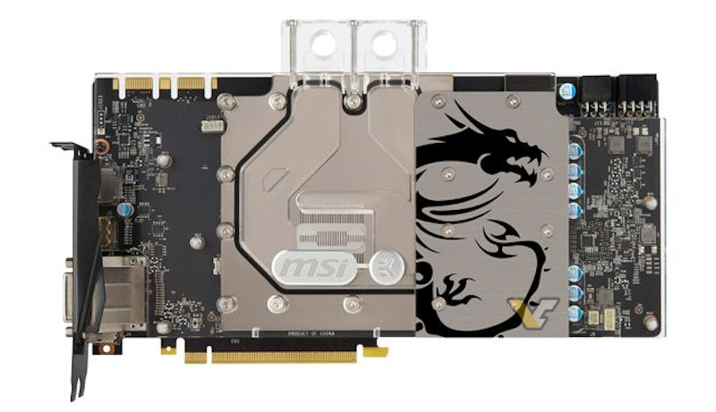 MSI to release water cooled GTX 1080 Sea Hawk EK GPU