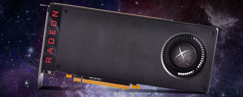 XFX RX 480 pictured online with specifications