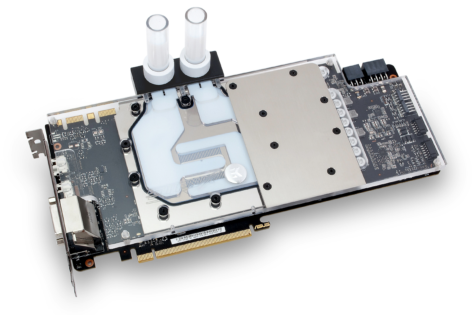 EK releases their custom GTX 1080 Gaming Strix Water block