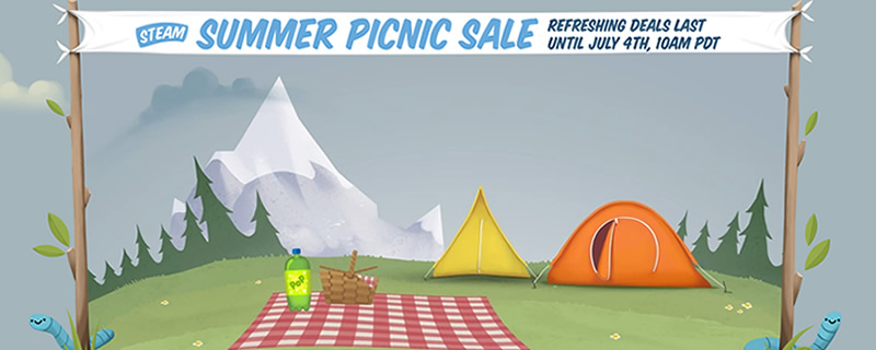 The Steam Summer Picnic Sale is now on.