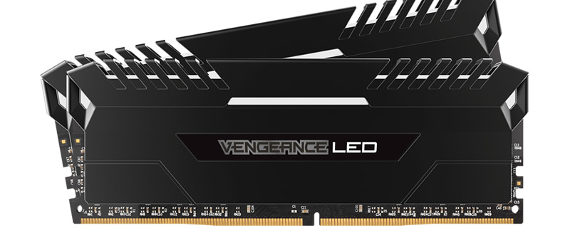 Corsair announces Vengeance LED Memory