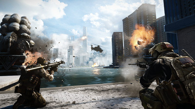 Battlefield 4, Hardline and 1 will have a UI Overhaul