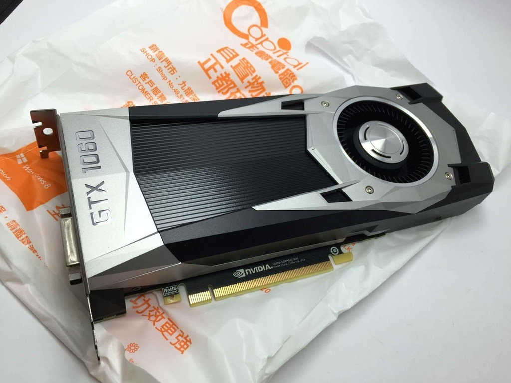GTX 1060 Pictured in Hong King