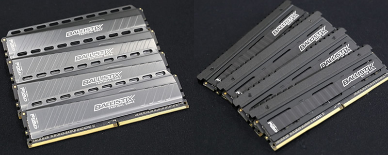 Crucial Ballistix Tactical and Elite DDR4 Memory - RushKit