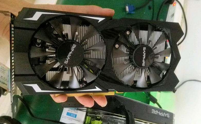 Sapphire's RX 470 and RX 460 have been pictured