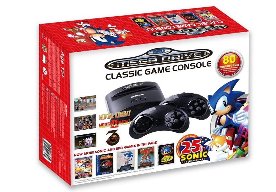 SEGA are to release a Mega Drive Mini Console in October