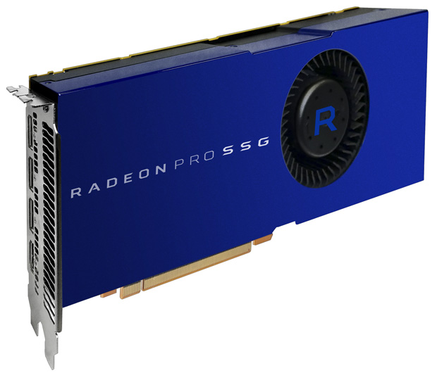 AMD announced their Radeon Pro SSG GPU with 1TB of onboard memory