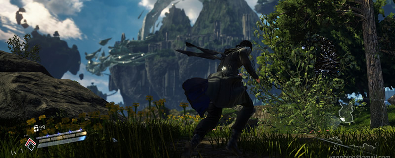 Lost Soul Aside is looking great for a game with only one developer