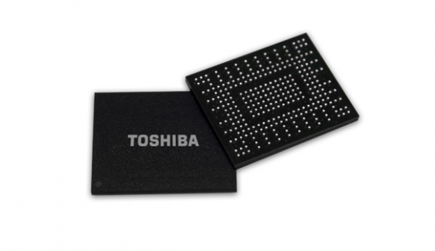 Toshiba announces their new NVMe BGA SSD with BiCS NAND