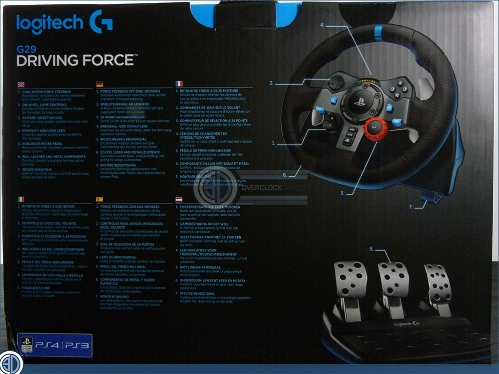 Logitech G29 Racing Wheel Review | Packaging and Pedals