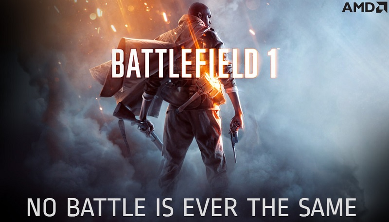AMD announced their new RX 480 Battlefield 1 game promotion