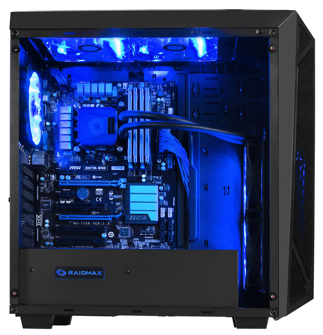 Raidmax announce their SIGMA mid-tower chassis