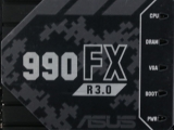 ASUS 990FX R3.0 AM3+ Sabertooth Preview