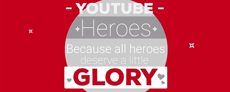 YouTube announces their YouTube Heroes program