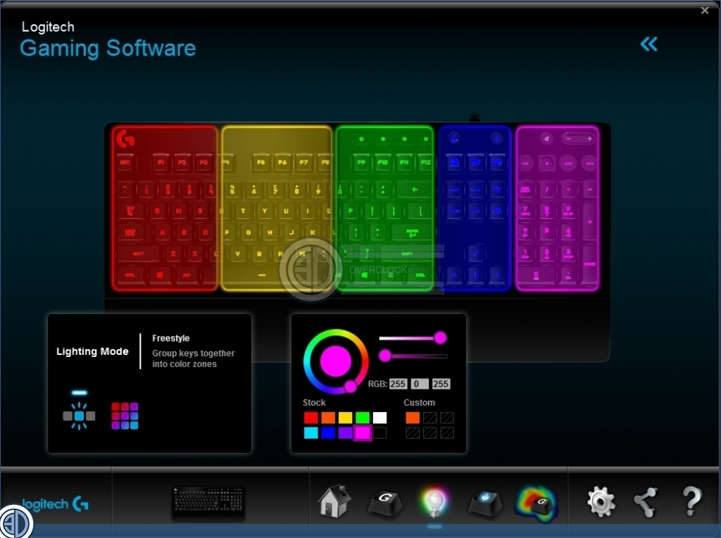 Logitech G213 Prodigy RGB Keyboard Review | Software and