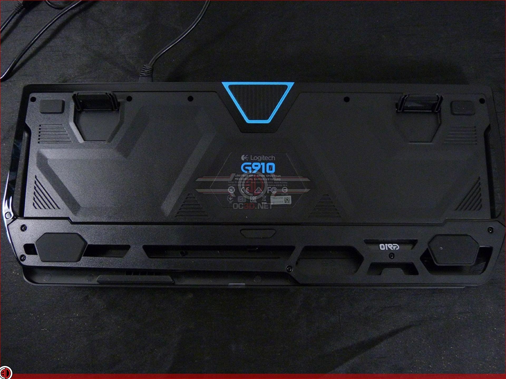 Logitech G910 Orion Spectrum Review   Up Close   Input
