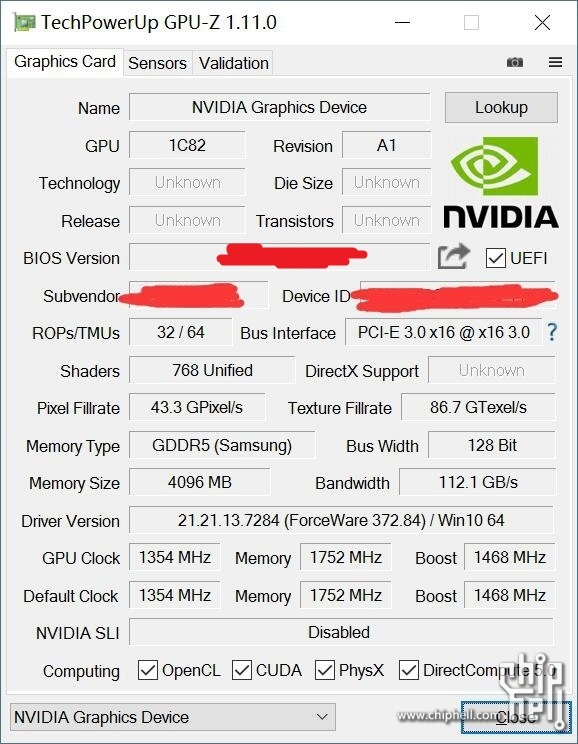 Benchmarks for Nvidia's GTX 1050 Ti have been leaked
