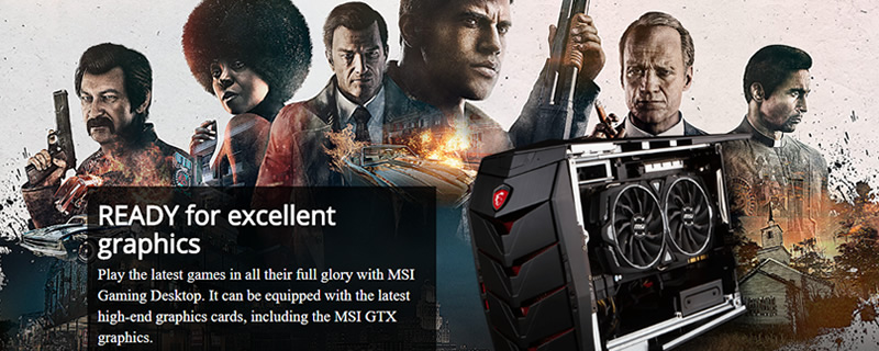 MSI is giving away Mafia III with select gaming motherboards and systems