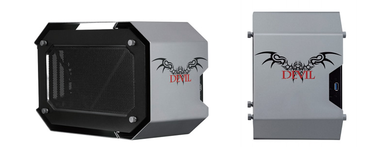 PowerColor's Devil Box external GPU enclosure is now available to purchase