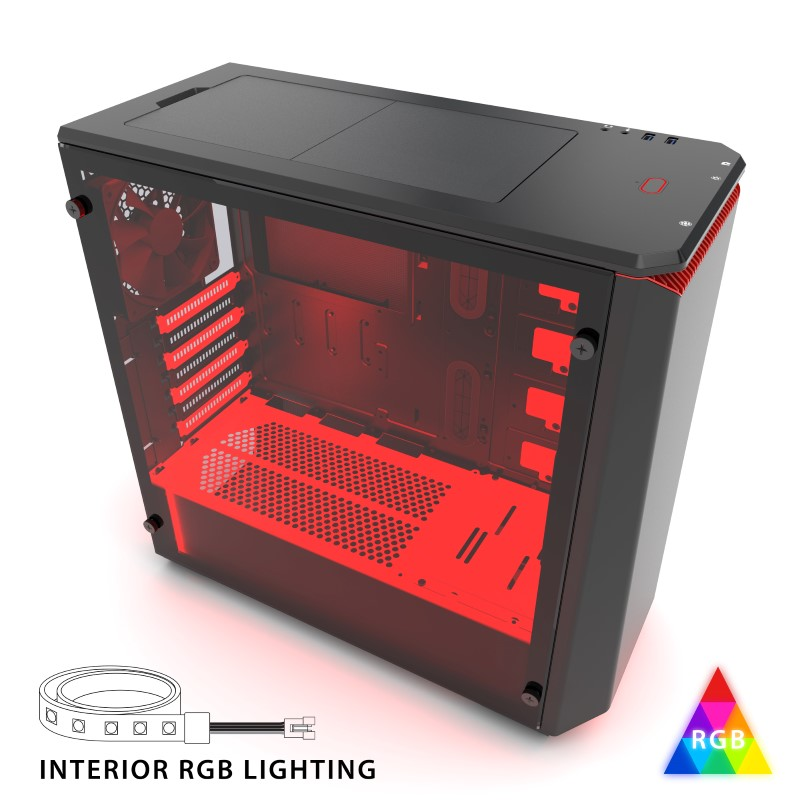 Phanteks announce their new P400 and P400S tempered glass windowed cases