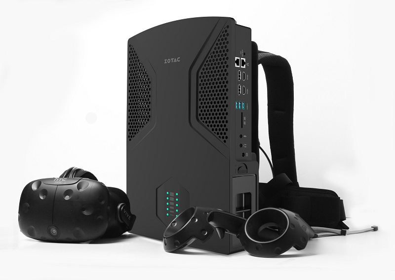 Zotac announces an updated VR backpack