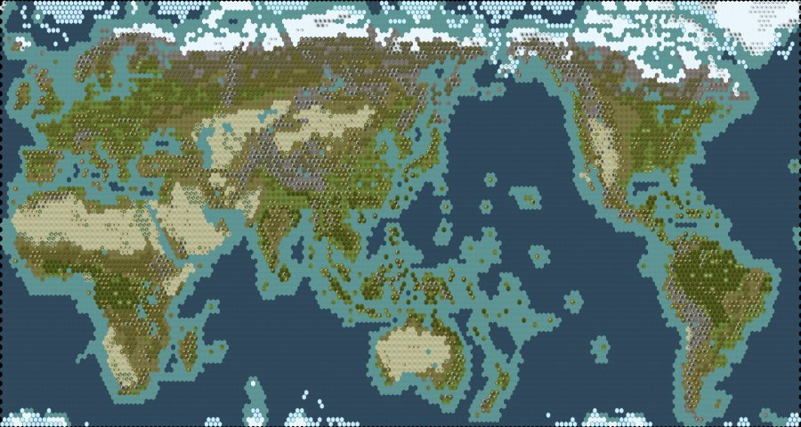 Ludicrously large Earth map mod comes to Civ VI | OC3D News