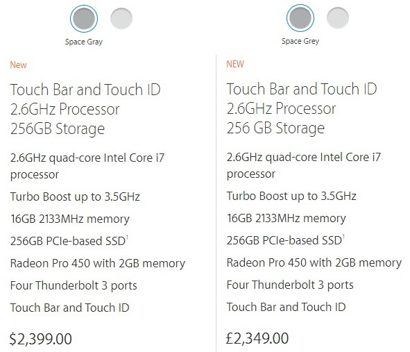 Apple's PC prices have risen in the UK